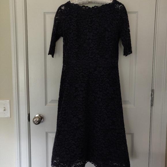 Teri Jon Dresses & Skirts - Teri Jon Navy Lace Dress